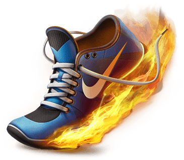 NIKE PLUS ILLUSTRATIONS DESIGN
